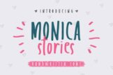 Last preview image of Monica Stories