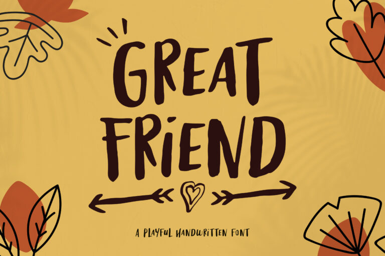 Great Friends-Instagram Font
