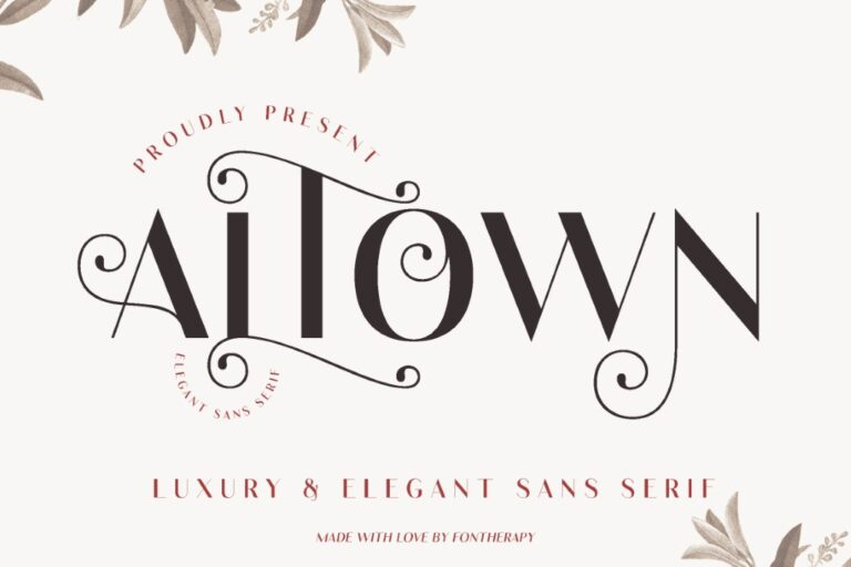 ALTOWN Business Font