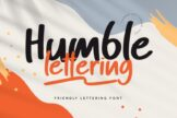 Last preview image of Humble Lettering