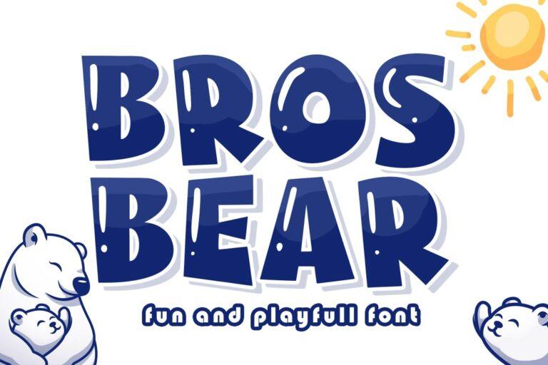 Bros Bear